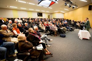 Speaking at Ballarat College May 2011